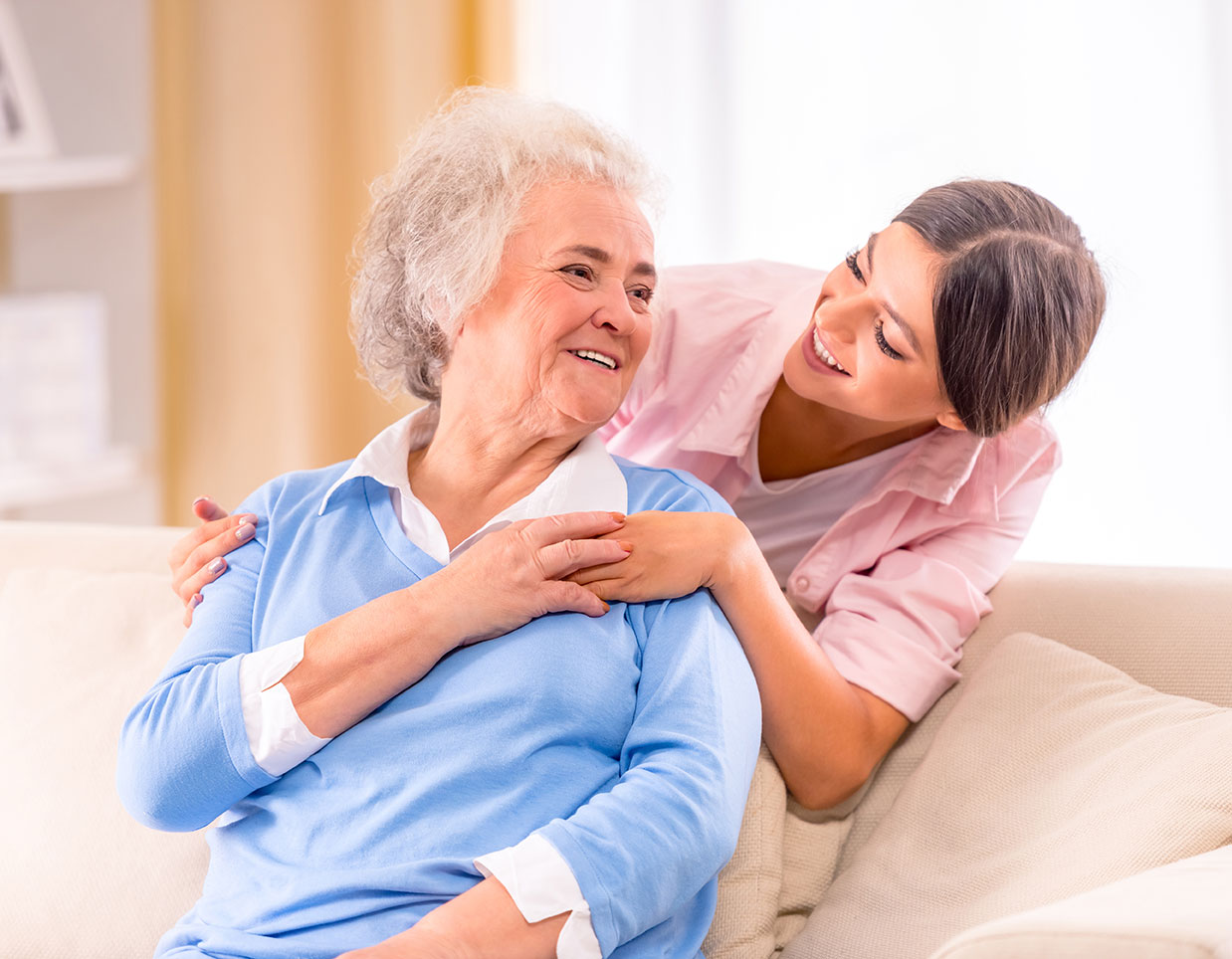 At home care and home care providers